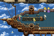 FFVI Android Terra and Celes in the Ending