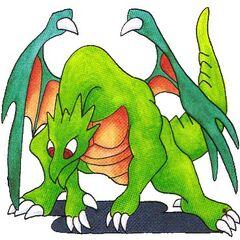 Dragon artwork in <i><a href=