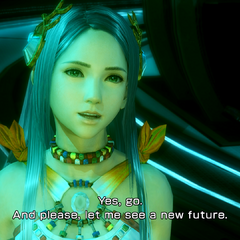 Yeul asking for a new future.