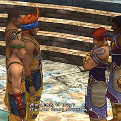 The Aurochs meet the Goers.