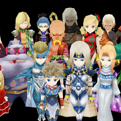 Playable characters (iOS).