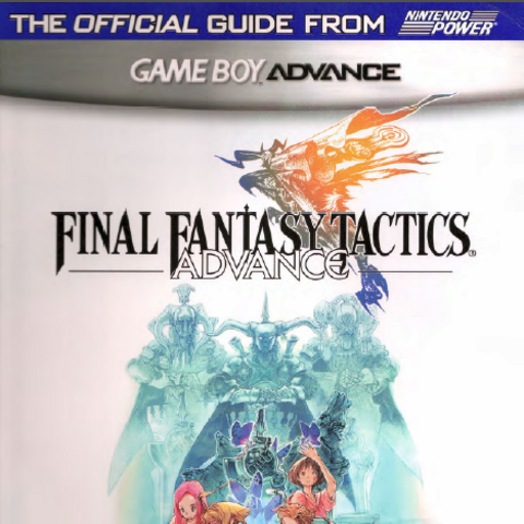 <i>Final Fantasy Tactics Advance Nintendo Power Player's Guide</i> cover.