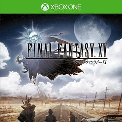 <i>Final Fantasy XV</i> Japanese Xbox One cover.