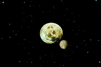 Red moon from earth ffiv ios