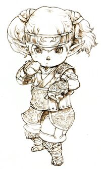 Monk FFXI Ikeda Art