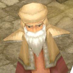 Render of a Kaipo old man (DS/iOS).