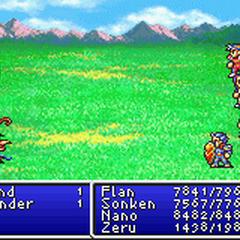 Flame Shield in <i>Final Fantasy II</i> (GBA).