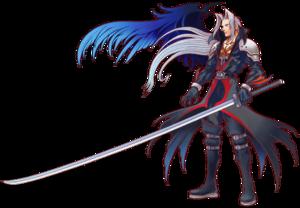 Sephiroth - Kingdom Hearts Artwork