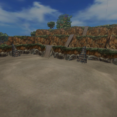 Battle background in Cleyra.