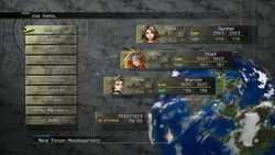 FFX-2 HD Main Menu