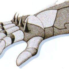 Gigas Glove artwork.