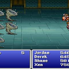 Flame Shield in <i>Final Fantasy</i> (PS).