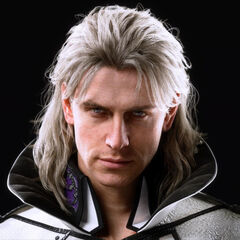 A portrait of Ravus from the Japanese website.