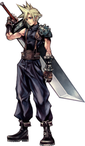Cloud Dissidia Artwork