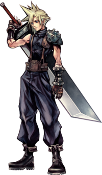 Cloud dans Dissidia Final Fantasy