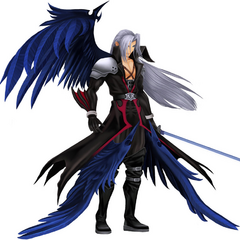 Sephiroth <i>Kingdom Hearts II</i> CG model.