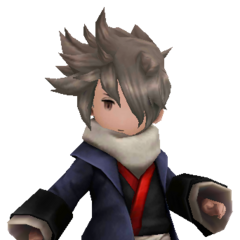Sagittarius Garb in <i>Bravely Second</i>.