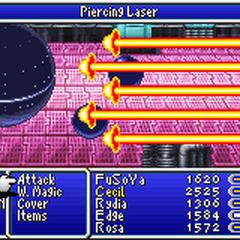 Piercing Laser in <i><a href=