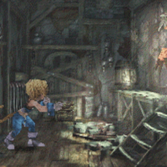 The Japanese dungeon image for <i>Mount Gulug, Part 1</i> in <i>Final Fantasy Record Keeper</i>.