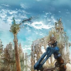 Artwork of Gran Pulse civilization from <i><a href=