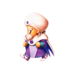 Galuf as a Mystic Knight.