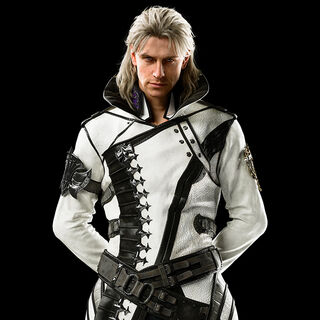 A full-body, CG render of Ravus.