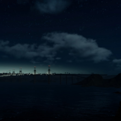 View to Insomnia before the end of Chapter 1.