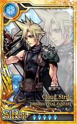 DFF Cloud Strife SR+ I Artniks