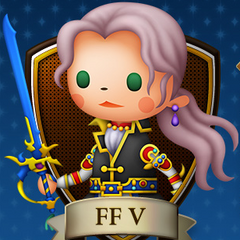 Faris in <i>Theatrhythm Final Fantasy</i> (iOS).