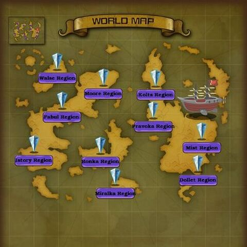 World Map.