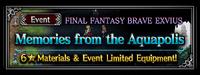 FFBE Event- Memories of the Aquapolis