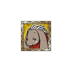Nu Mou White Mage icon in <i>Final Fantasy Tactics S</i>.