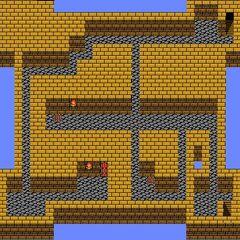 Castle Palamecia's Fourth Floor (NES).