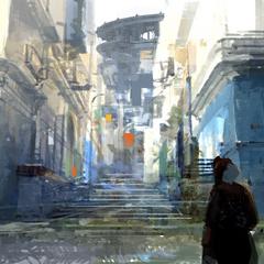 Lestallum alleyway.