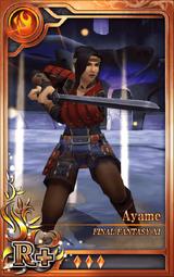 FF11 Ayame R+ F Artniks
