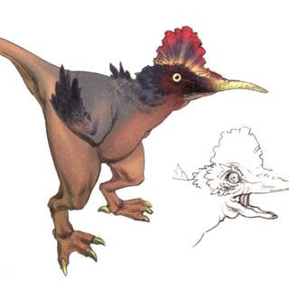 Akira Oguro artwork of the Cockatrice summon <i>Final Fantasy IV</i> (DS).