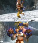 Rikku Berserker Victory Pose