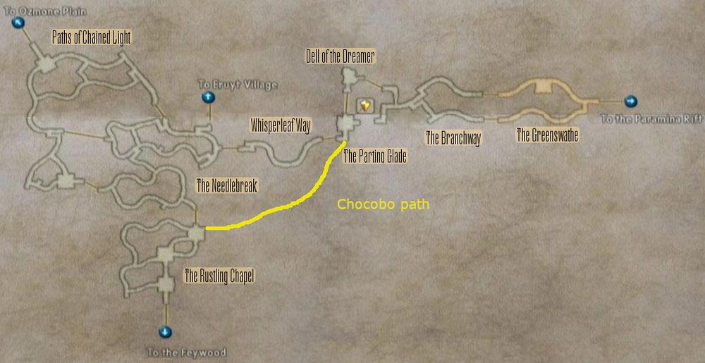 FF12 Map - Golmore Jungle