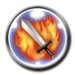 FFRK Firaga Strike Icon