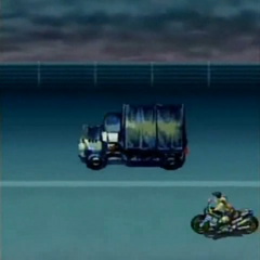 Highway in <i>Before Crisis -Final Fantasy VII-</i>.