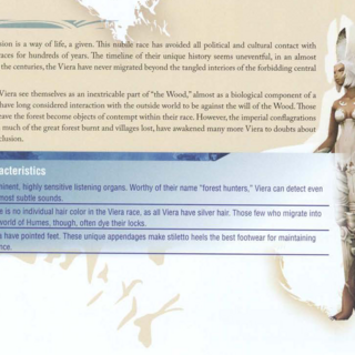 Viera in <i>Final Fantasy XII</i> Official Strategy Guide Book.