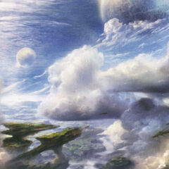 Artwork of the sky above Pulse.