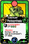 Cactuar Photosynthesis