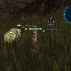 Sheep in Archylte Steppe in <i>Final Fantasy XIII-2</i>.