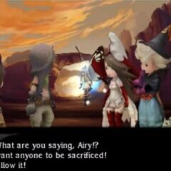 Tiz refuses to allow Egil to help.