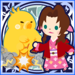 FFAB Fat Chocobo - Aerith Legend SSR+