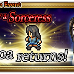 Global event banner for To Slay a Sorceress (Reissue).