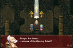 FFVI PC Warring Triad Statues Esper Caves