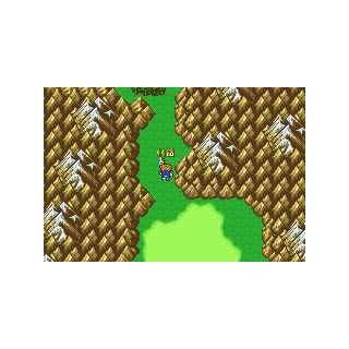 Quelb on the Merged World (GBA).