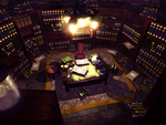 Shinra mansion library
